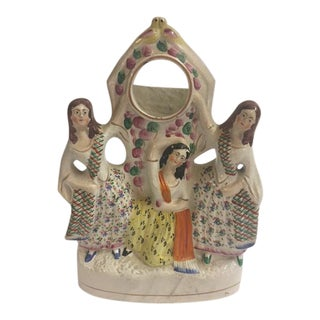 Staffordshire Three Graces Pocket Watch Holder