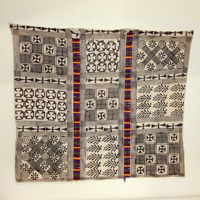 Image of African Ashanti Adinkra Wood Block Cloth