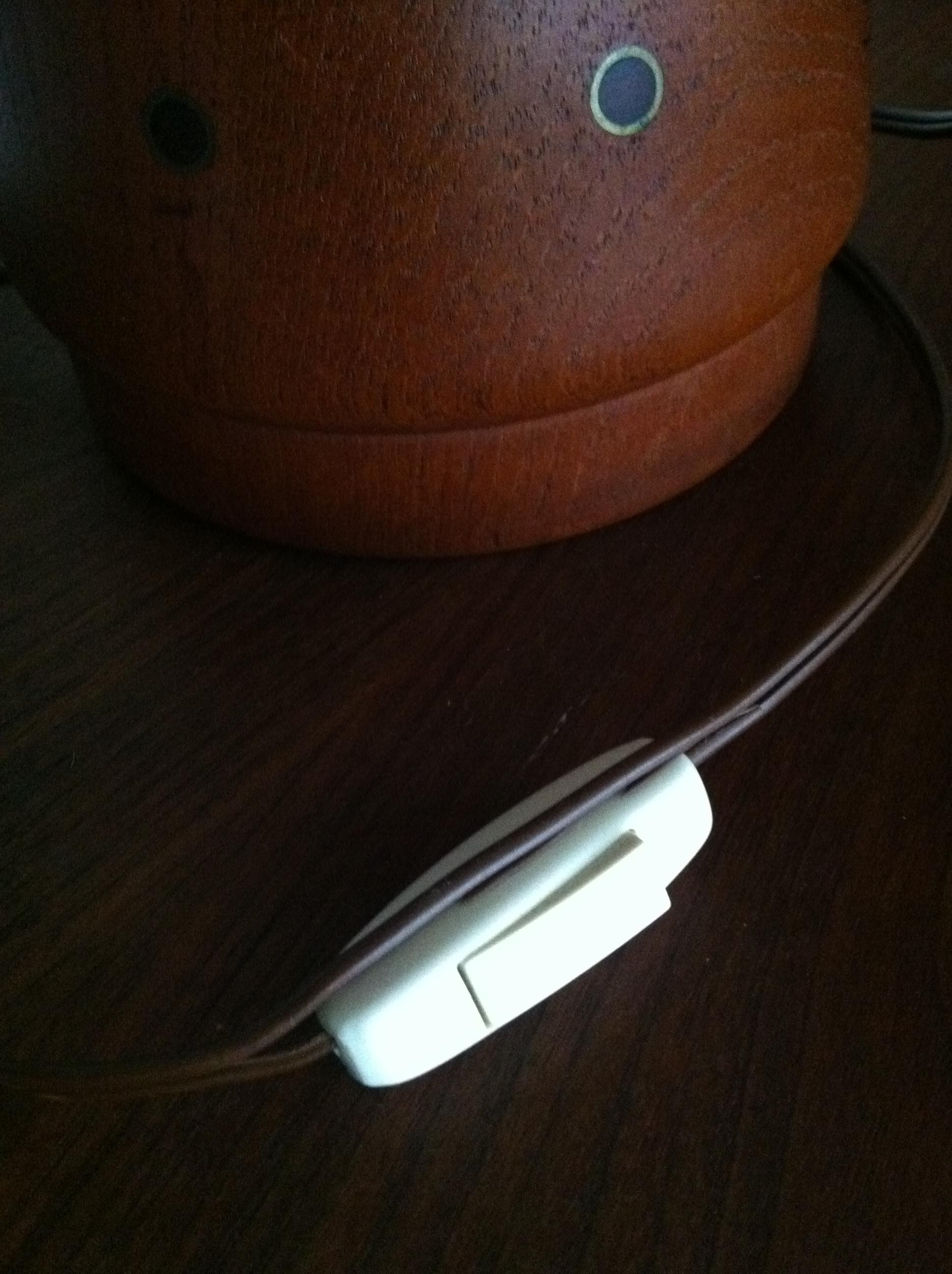 Mid Century Teak Desk Lamp Chairish