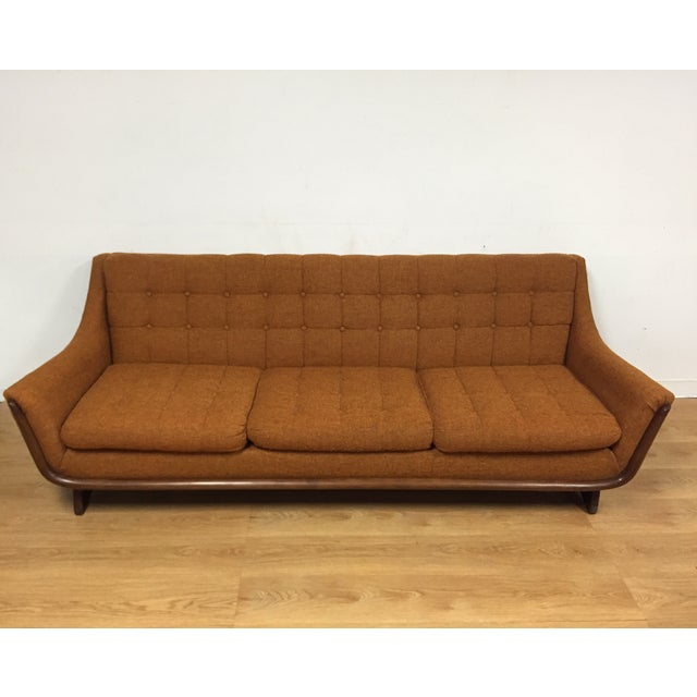 Image of Mid Century Pearsall Style Sofa