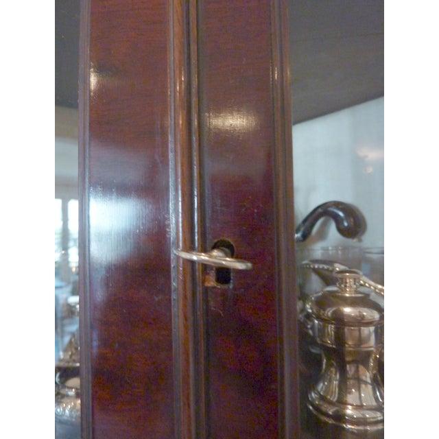 Antique English Mahogany Corner Cabinet, Ca. 1800 - Image 6 of 8