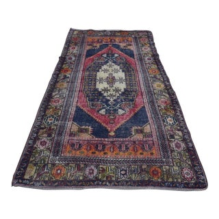 Turkish Oushak Rug- 4′4″ × 8′2″