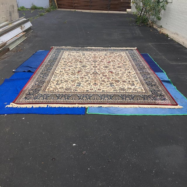 "Persian Floral Pattern Rug - 9'2"" x 13'4"" - Image 2 of 7"