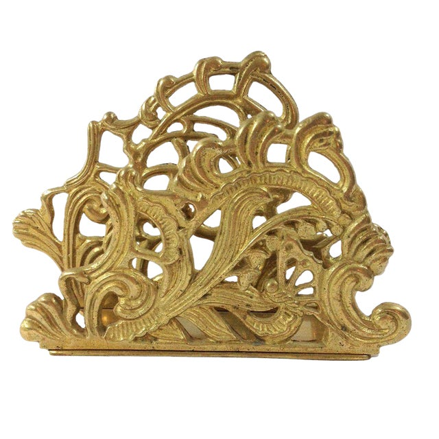 Image of Brass Letter Holder