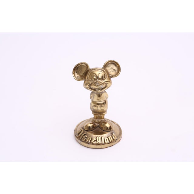 Brass Mickey Mouse Sculpture Disneyland - Image 2 of 3