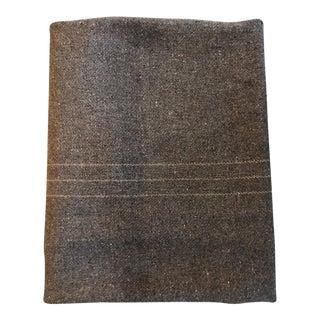 Vintage Wool Military Blanket