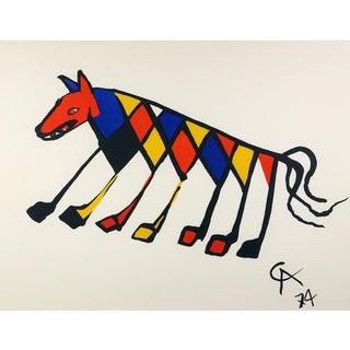 Alexander Calder Beastie Silkscreen Print