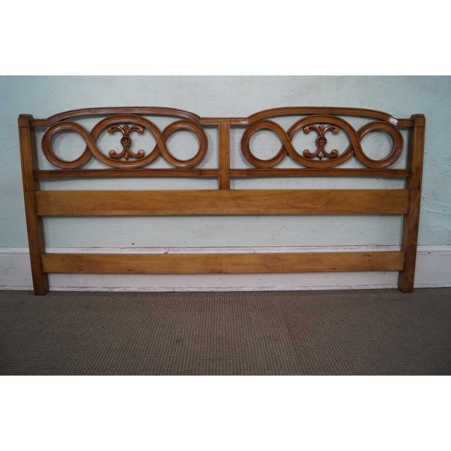 Widdicomb French Style King Size Headboard - Image 2 of 10