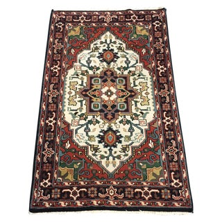 Asian Style Area Rug - 3′ × 5′