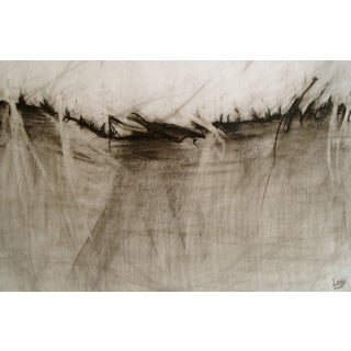 """How to Crawl"" Charcoal Drawing"