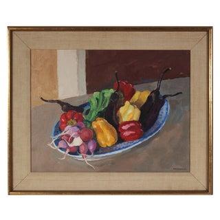 Garden Vegetables Still Life Painting