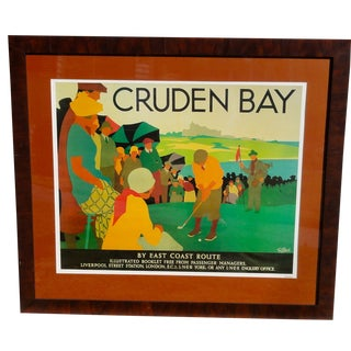 Vintage Poster of Cruden Bay, Golf Course