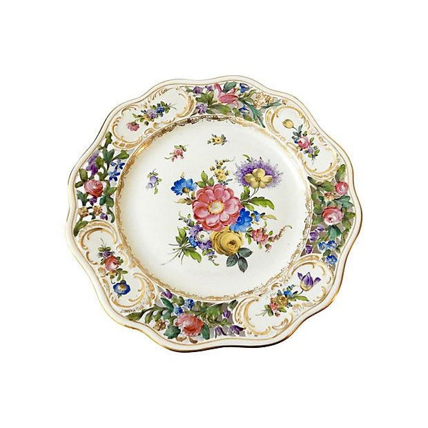 19th-C. Dresden Cabinet Plate - Image 7 of 7