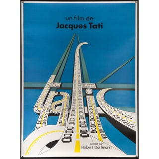 "Jacques Tati ""Traffic"" French Film Poster"