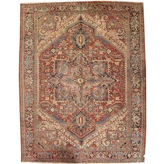 "Persian Karajeh Hand-Knotted - 9'10"" X 12' 6"""