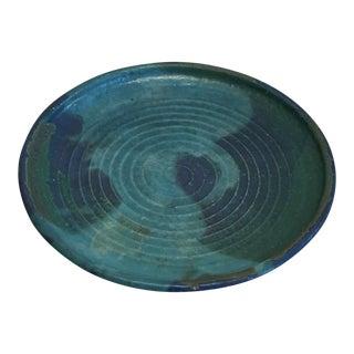 Vintage Hand Thrown Platter
