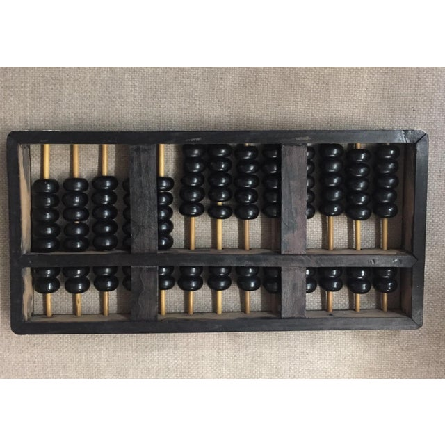 Vintage Black & Natural Wood Abacus - Image 3 of 4