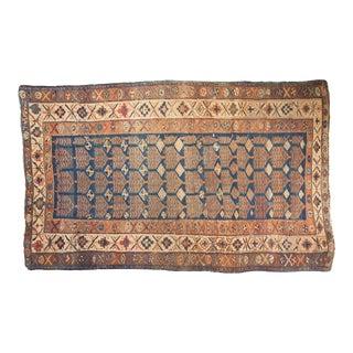 """Vintage Kurdish Rug - 4'5"""" x 7'3"""""""