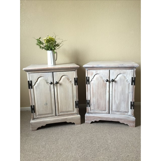 Solid Whitewash Armoire - Image 11 of 11