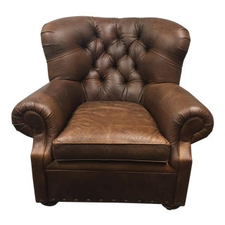Restoration Hardware Churchill Leather Chair