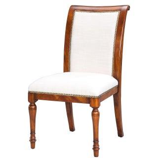 Sarreid LTD Jupe Walnut Side Chair