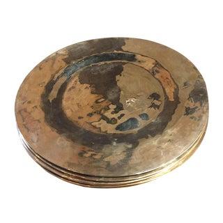 Set of Brass Plates