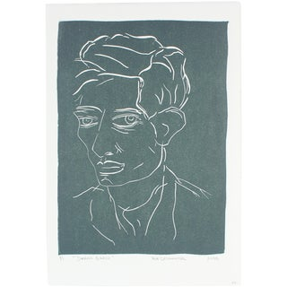 """Duncan Grant"" Linoleum Block by R. Delamater"
