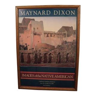 Maynard Dixon Native American Lithograph, 1981