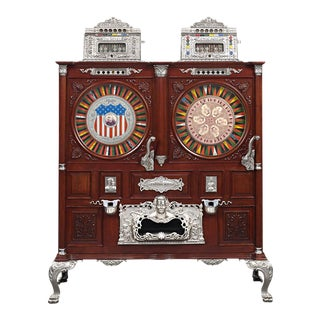 Mills Double Upright Slot Machine