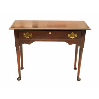 Statton Solid Cherry Console Sofa Table