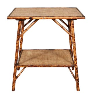 JW Custom Line Tiger Bamboo Side Table