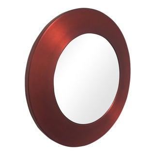 Babette Holland Red Aluminum Bella Mirror