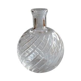 Baccarat Spiral Vase