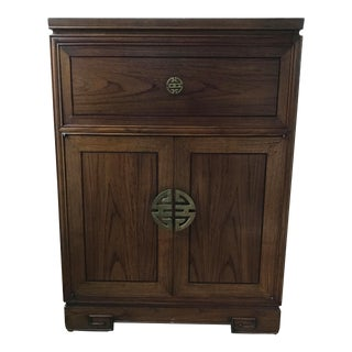 Asian Wine & Bar Cabinet