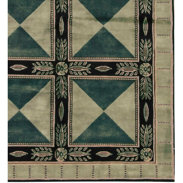 Contemporary Hand Woven Rug - 5'9 x 8' - Image 3 of 3