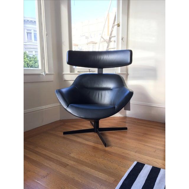 Cassina Auckland Swivel Armchair Chairish