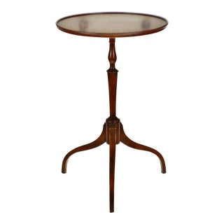 Vintage Kittinger Furniture Candle Stand Side Table