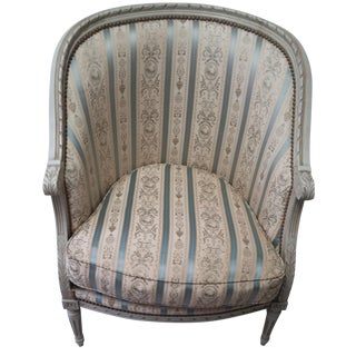French Louis XVI Style Marquise Armchair