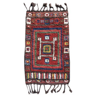 Central Asian Long Pile Rug