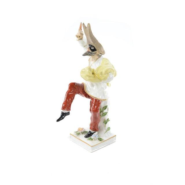 Image of German Porcelain Commedia Dell'Arte Figurine