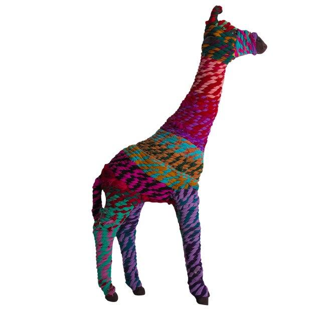 Boho Indian Chindi Giraffe - Image 1 of 7