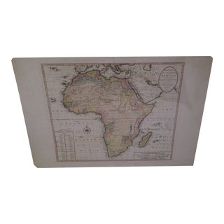 Bowles's Antique Map of Africa Circa 1750
