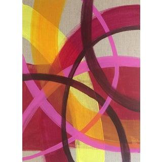 'SALSA' original abstract painting by Linnea Heide