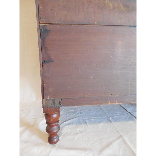 Signed Pennsylvania 1836 Cherry Slant Front Desk - Image 9 of 11