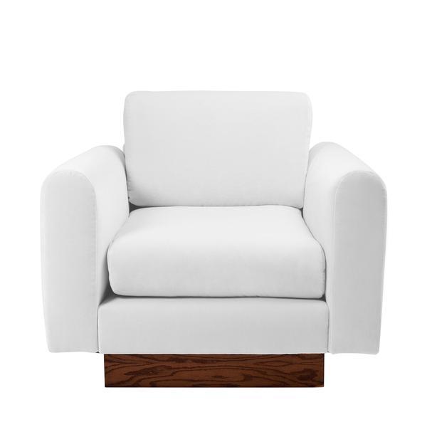 Image of Harvey Probber Lavender Velvet Club Chairs - Pair