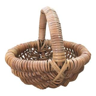 Boho Chic Woven Basket