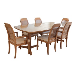 Thomasville Dining Set - Burl Finish