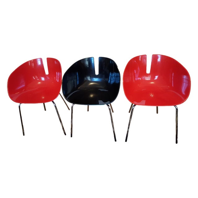 Image of P. Urquiola Fjord H. Chairs - Set of 3