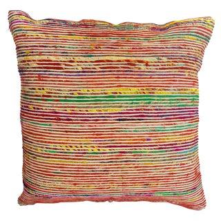 Rainbow Textured Pillow