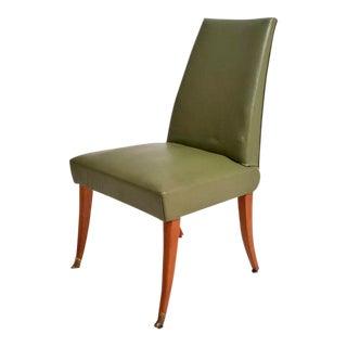 Set of 8 Mahogany Dining Chairs after Arturo Pani